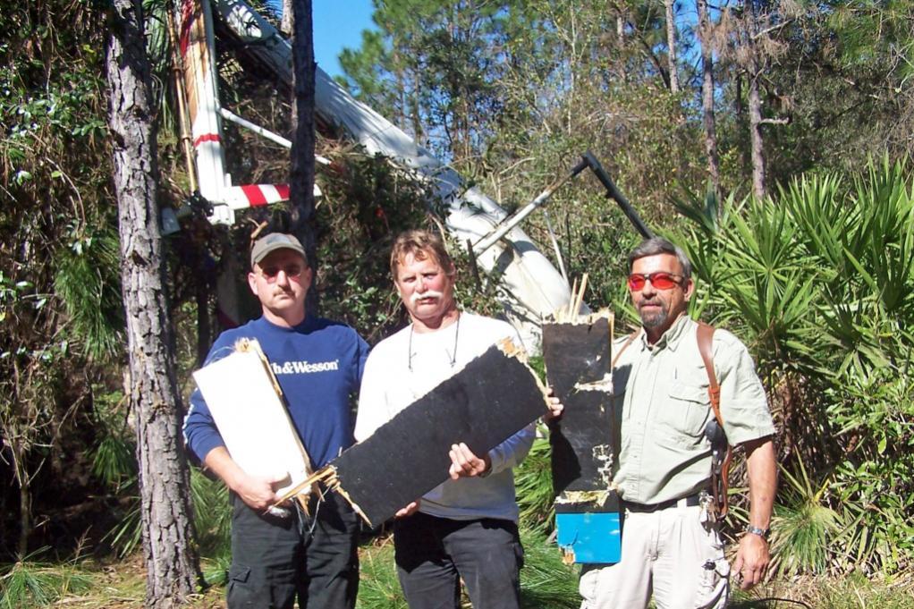 Mas Ayoob and John Strayer in helo crash-ayoobhelo.jpg