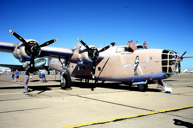 Old War Bird That You Can Ride In.-b24.jpg