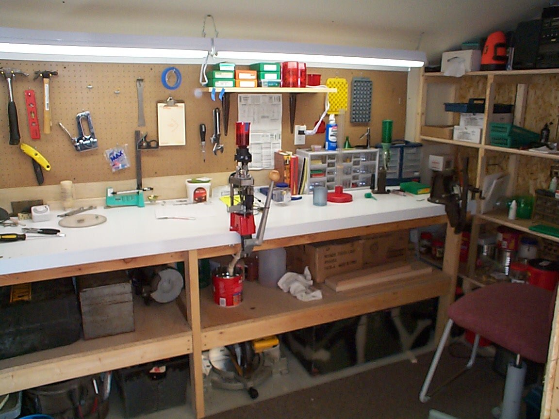 My Super Duty Reloading Bench Pic Heavy