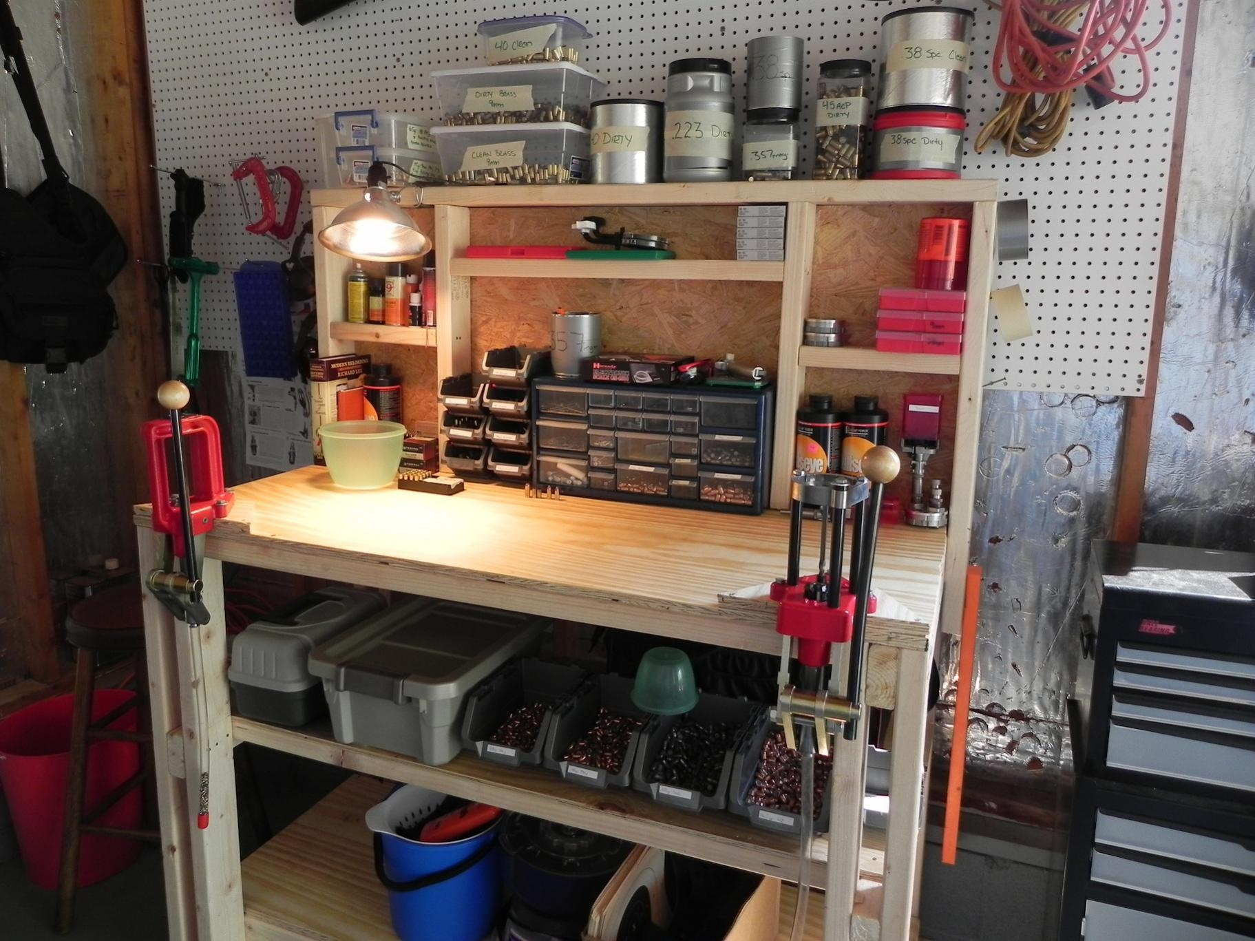 Letu0027s See Your Reloading Bench Bench