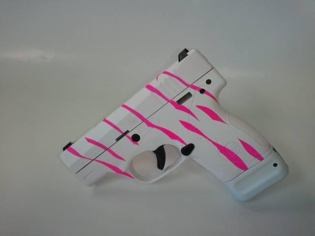 For Sale: Hot Pink and White Zebra Beretta Nano 9mm Pistol-berettanano-hotpink-white-zebra-9mm.jpg