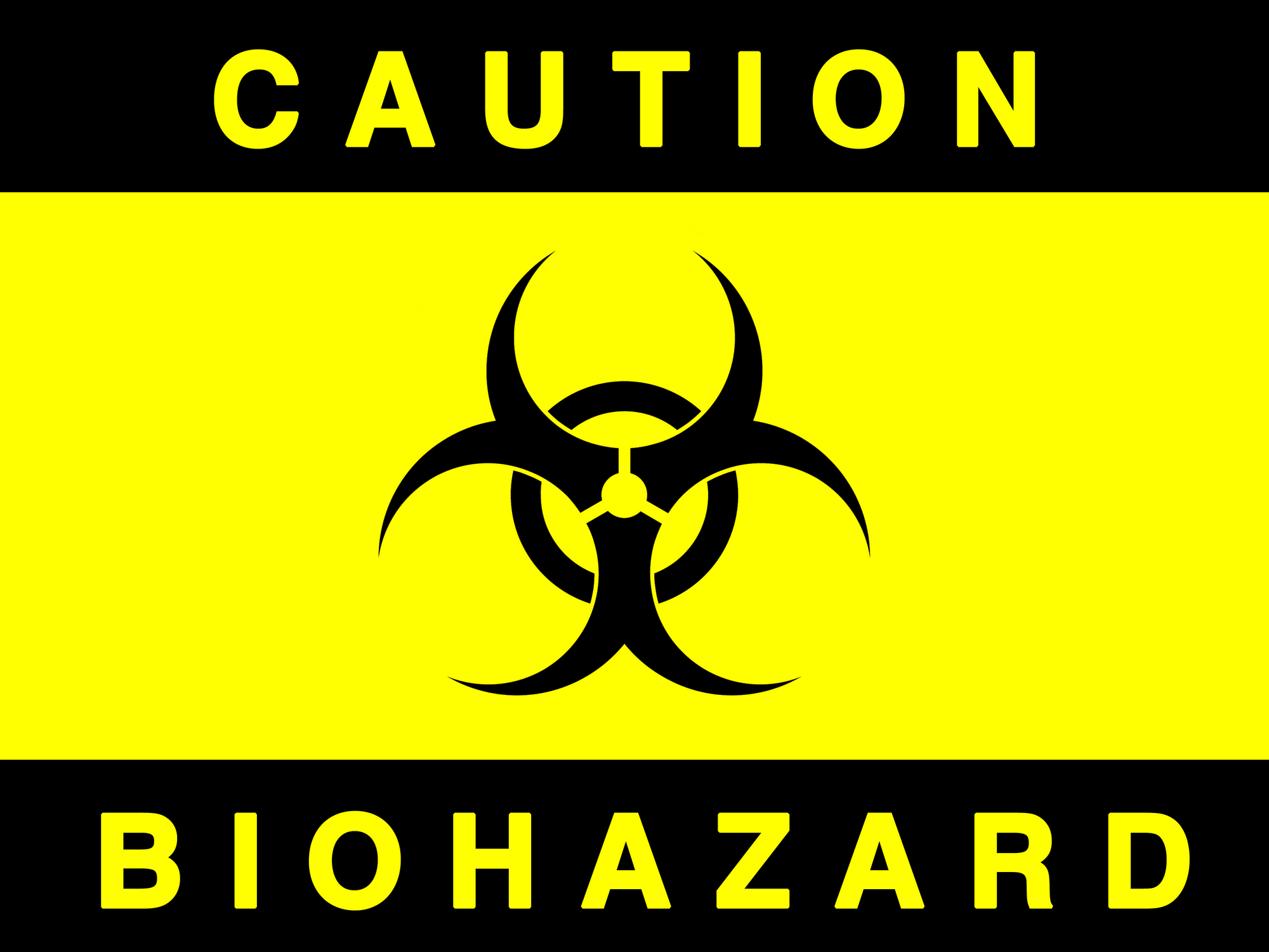 No trespassing signs.-biohazard_black_yellow.jpg
