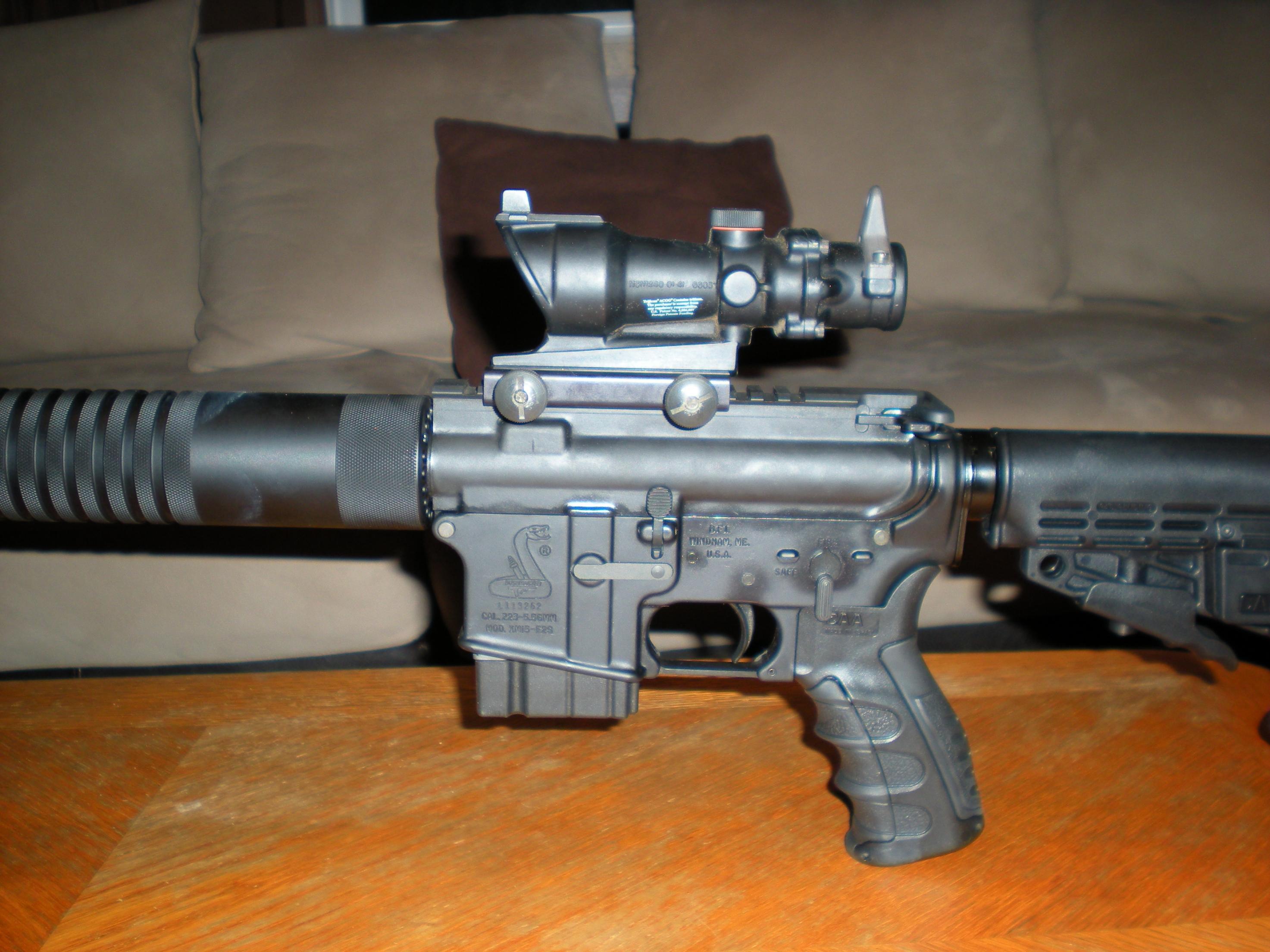 I dressed up my AR a bit!-bushmaster-5.56-w-agog-2.jpg