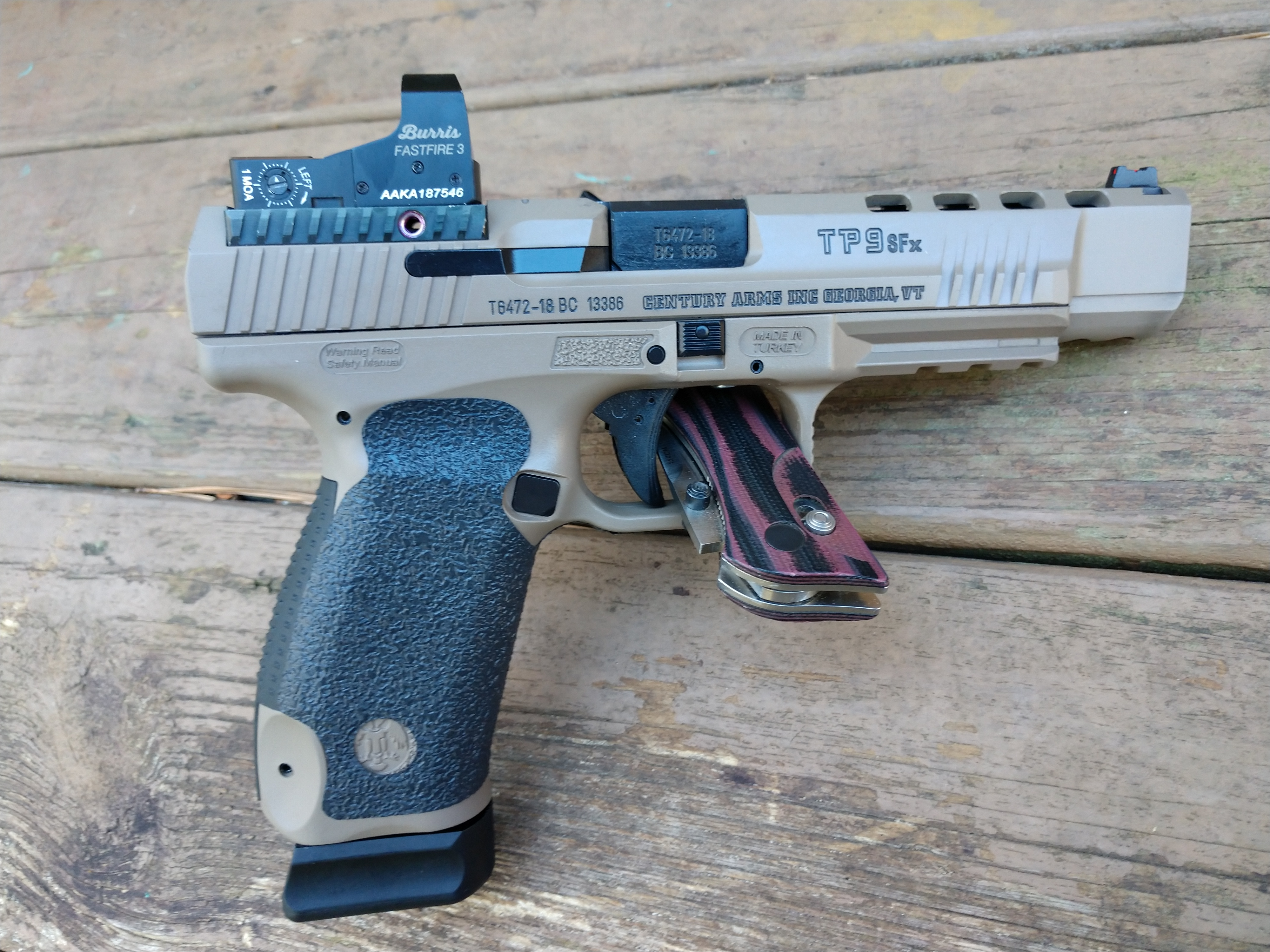 Canik TP9SF or TP9SFX
