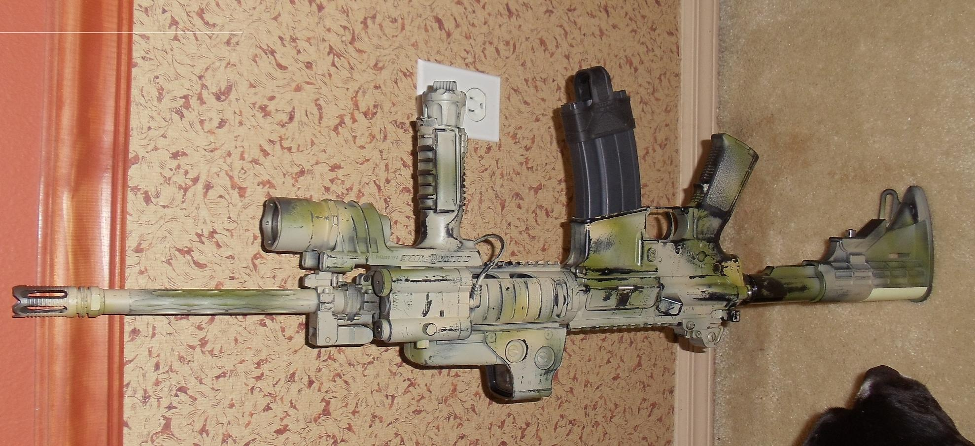 Painting Rifles - How To-carbine.jpg