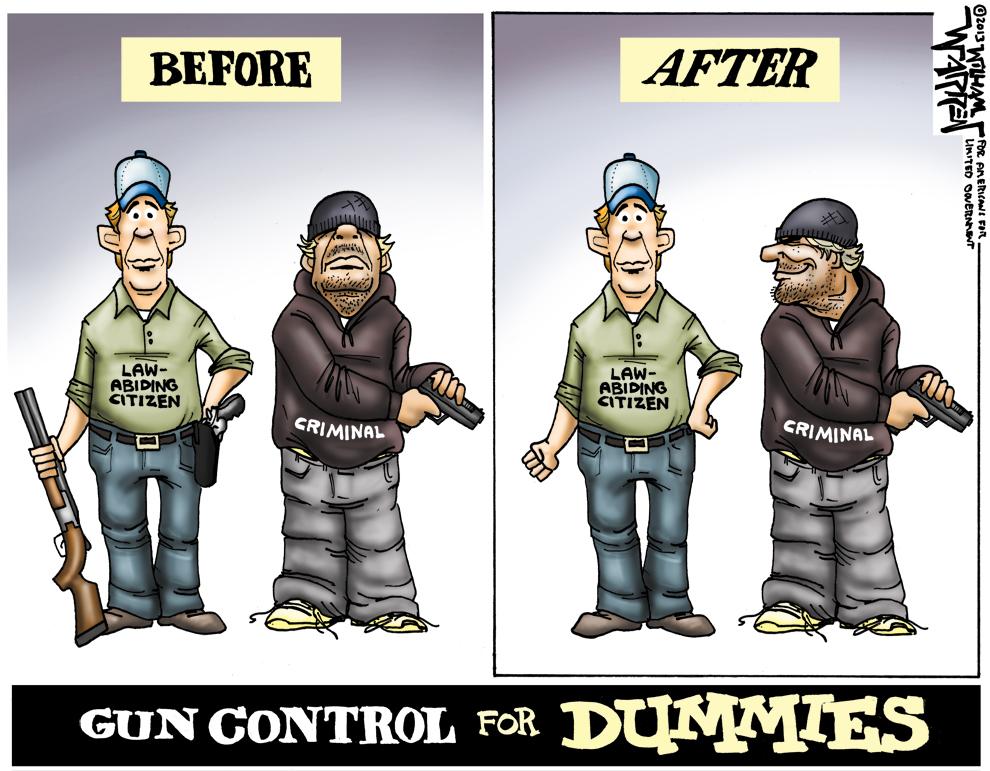 FUN:  Favorite cartoon images about gun control-cartoon-gun-control-dummies-990.jpg