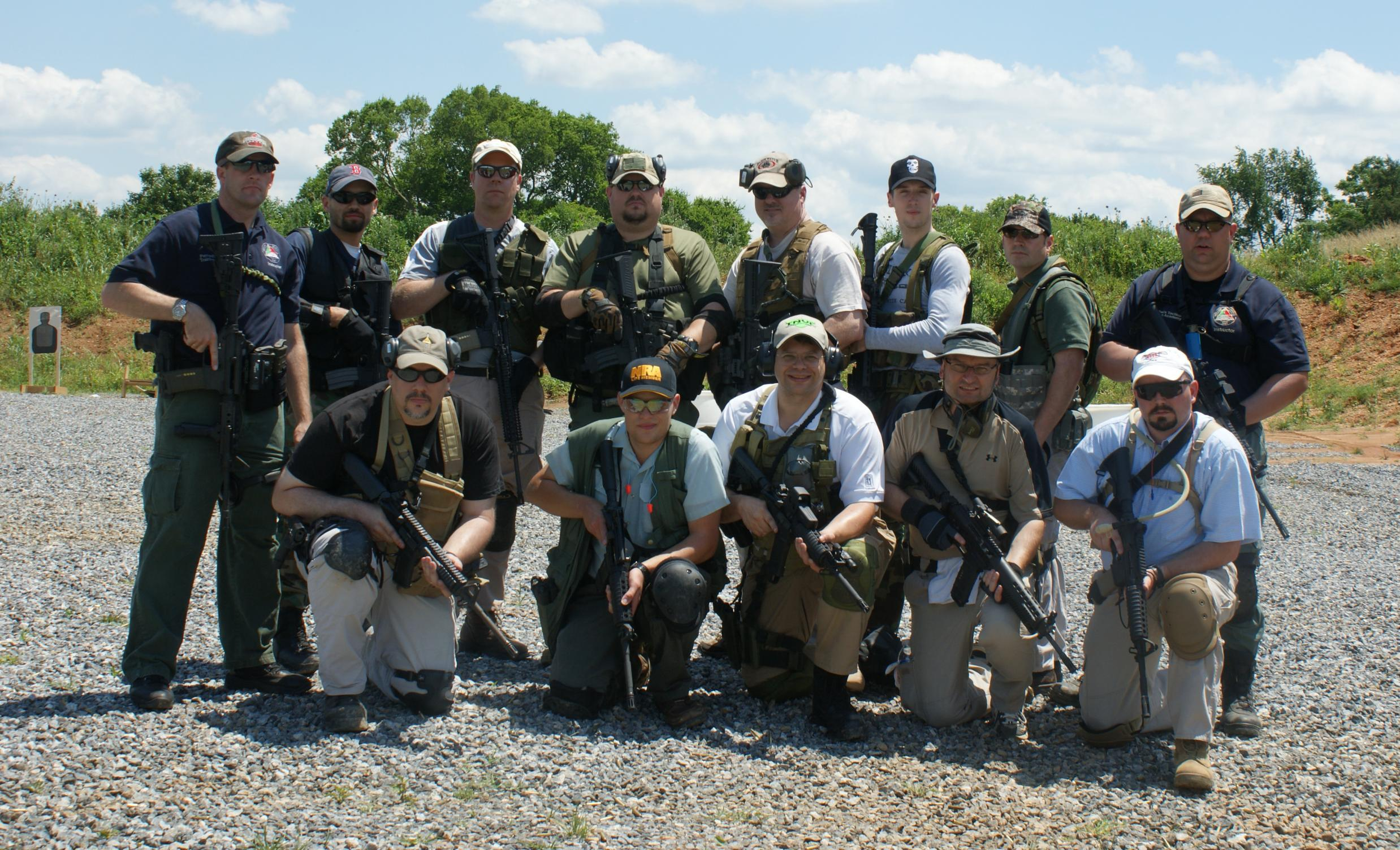 Pictures from Tom Perroni's M4 Carbine Course-class-photo.jpg