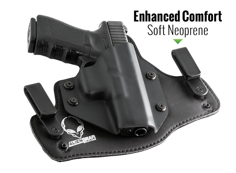 Two new holsters: K  Null SMZ (shoulder) and Sneaky Pete