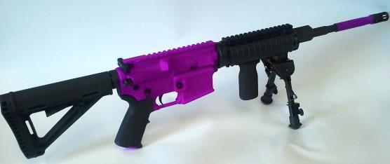 DuraCoat Work: Colt AR-15 Bi-Tone in Tactical Black and Passion Purple-coltar15-bitone-tacticalblack-passionpurple.jpg