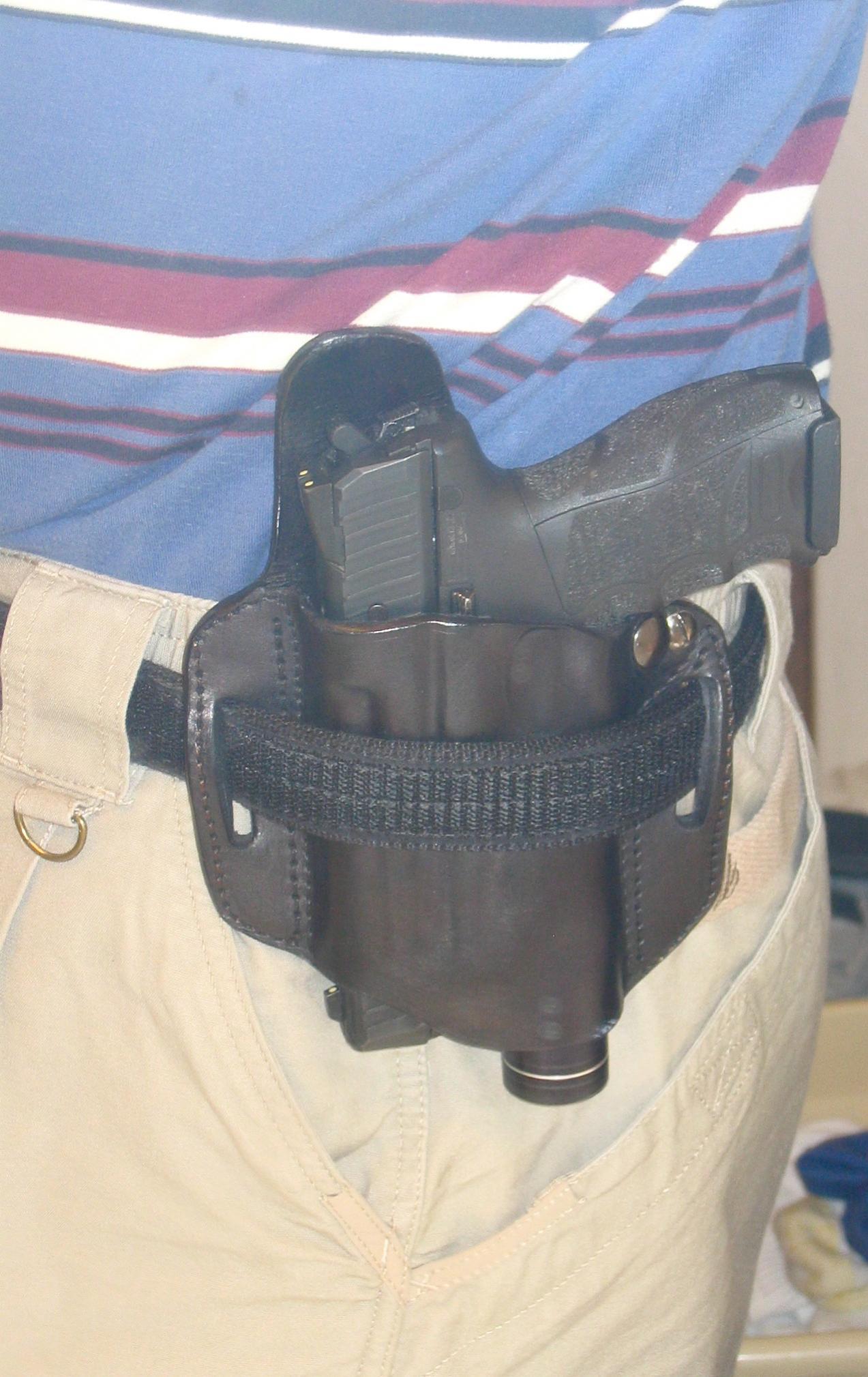 """Little Bear """"belt-over"""" tac light/pistol combo.-dc-1.jpg"""