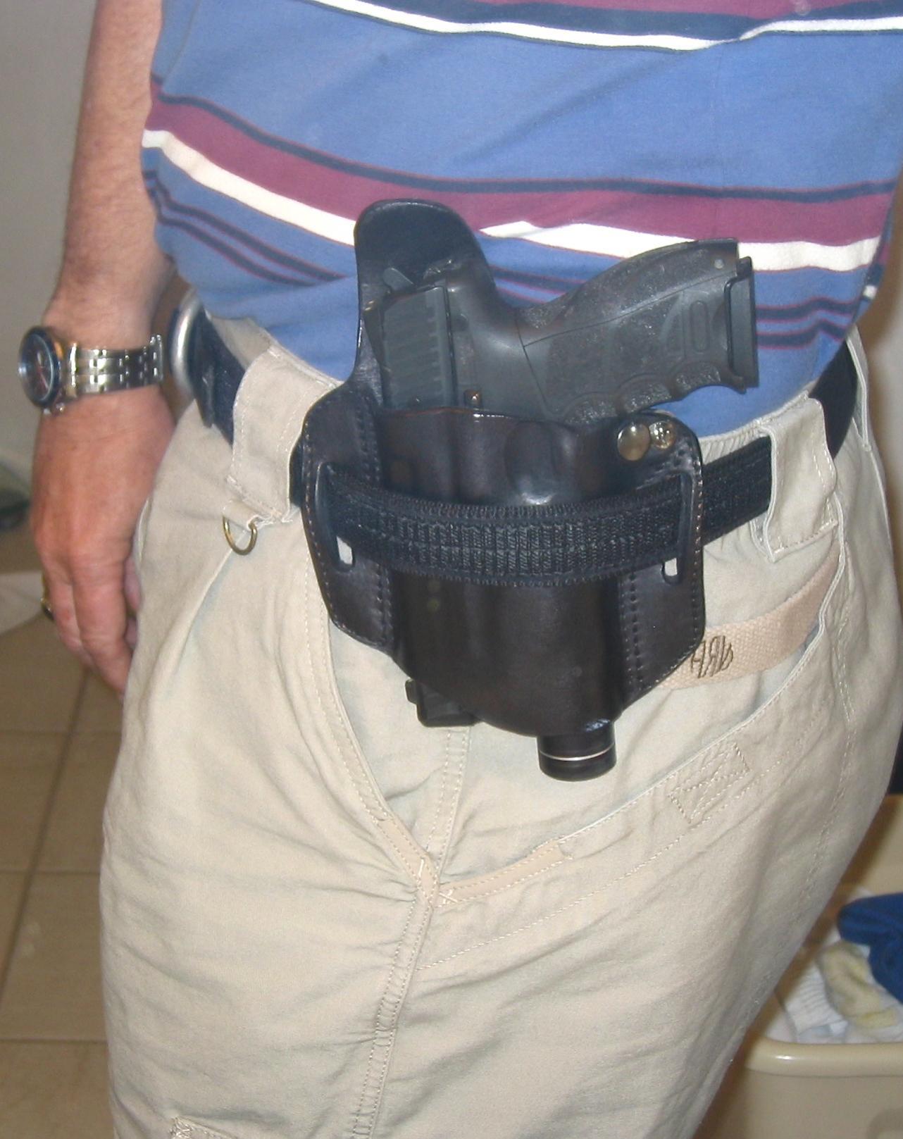 """Little Bear """"belt-over"""" tac light/pistol combo.-dc-3.jpg"""