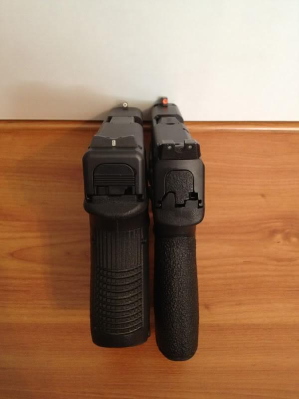 M And P Shield Vs Glock 26 Comfort of Glock 26 vs...