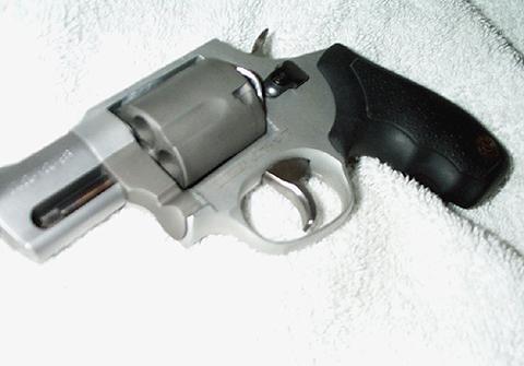 IWB Leather holster for Taurus large frame snub