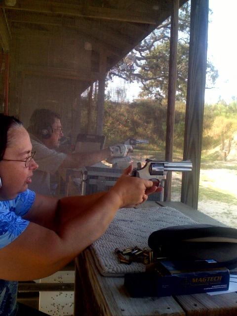 Gunshow- No spouses allowed: Quirky gun needs or justifications?-dottie-shoots-686.jpg
