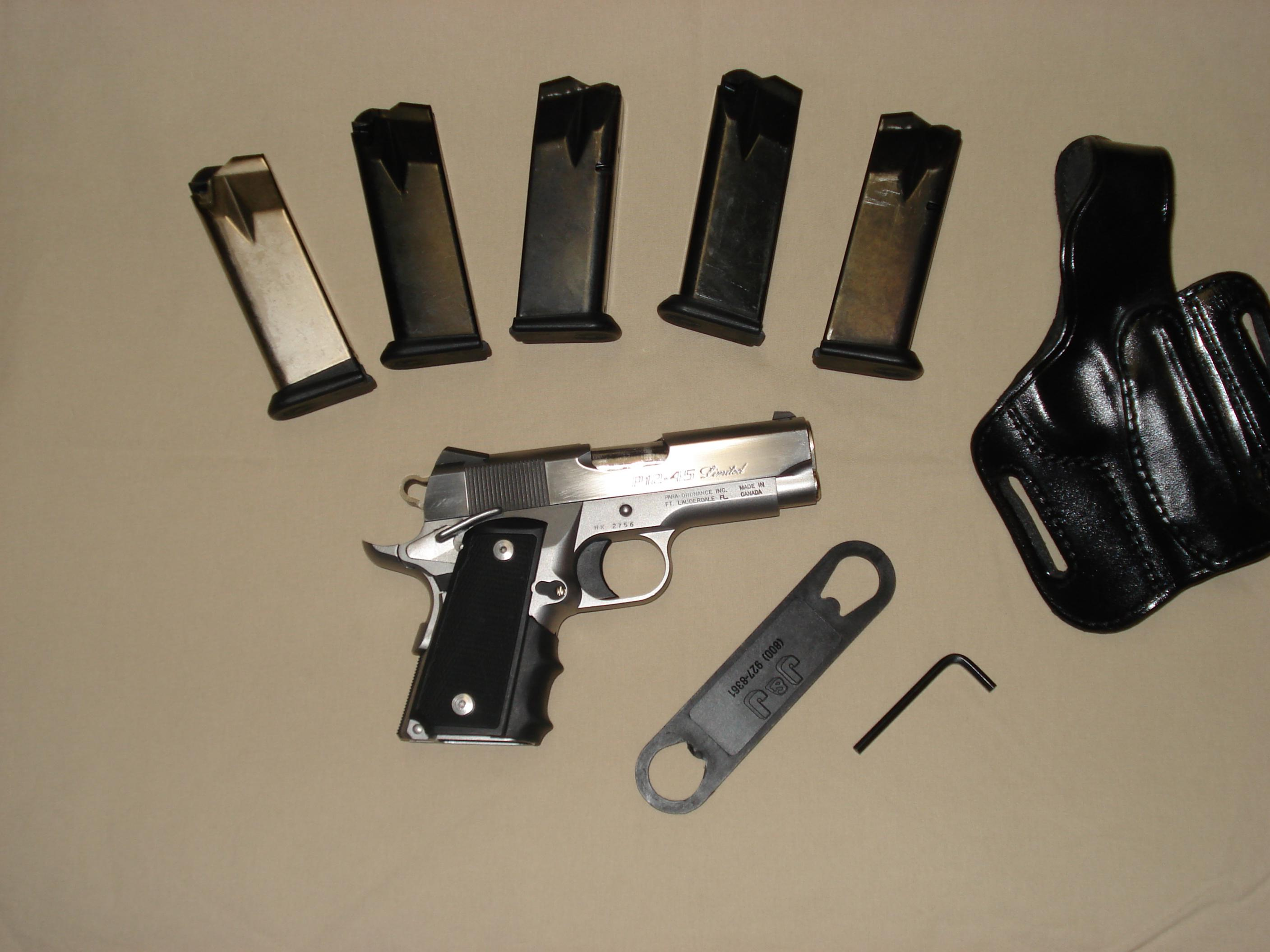 WTT Para P12.45 limited with 5 mags and holster-dsc00825.jpg