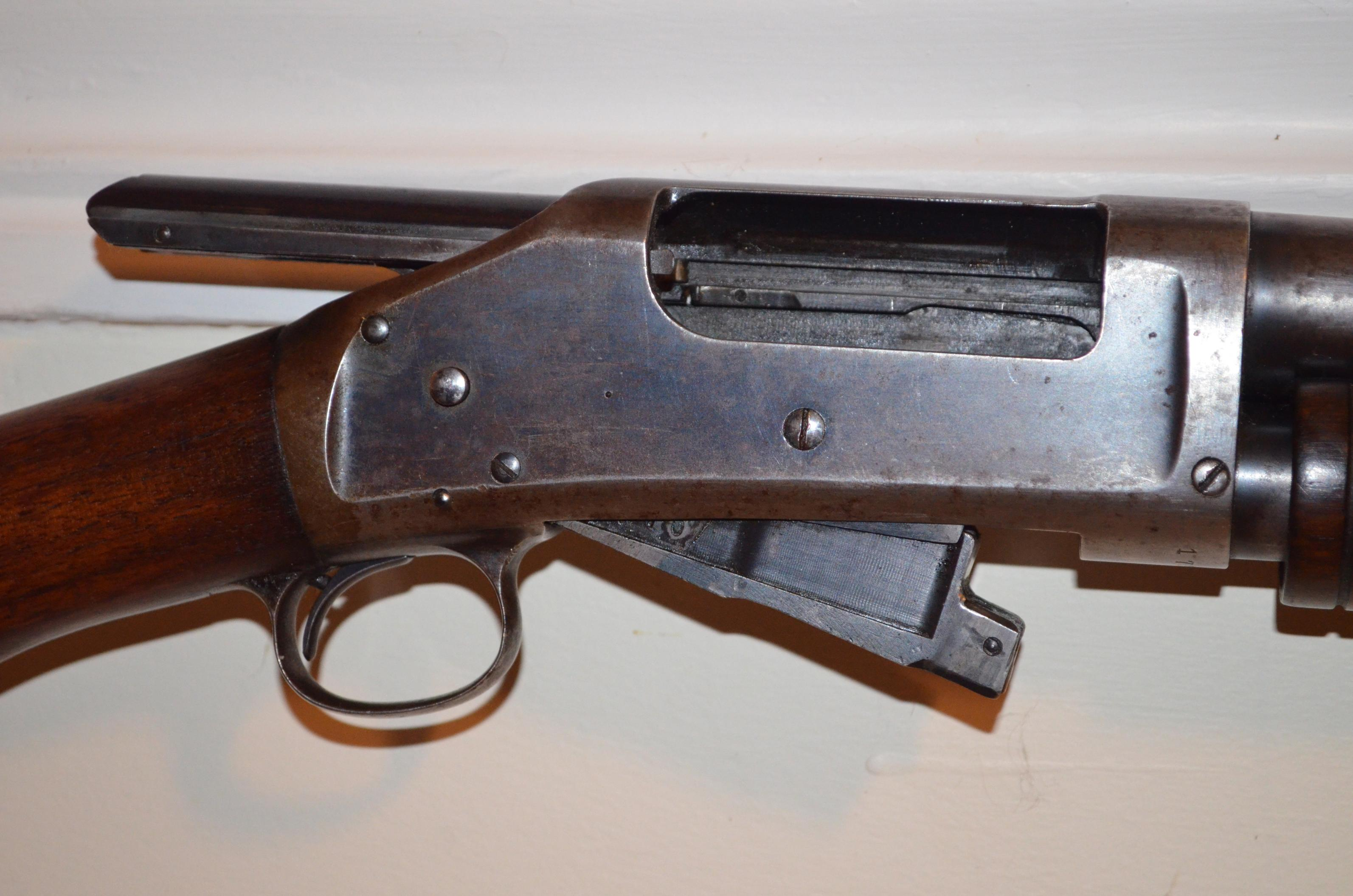 Winchester 1897 Mag Tube Support Clamp
