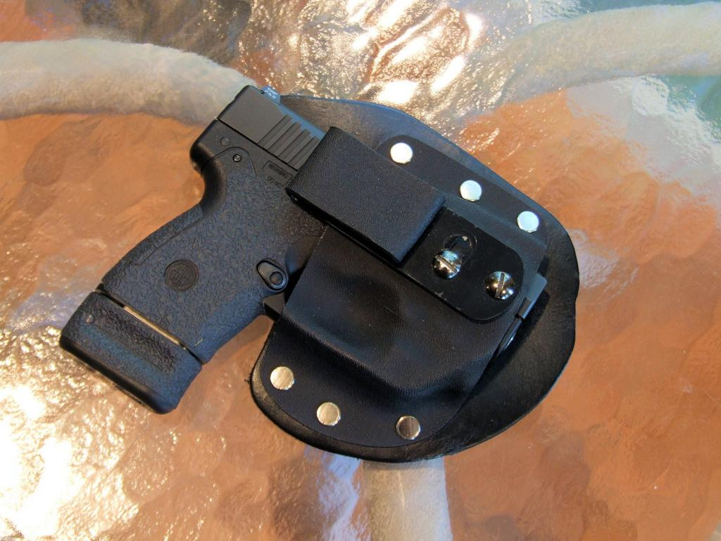 Single Clip Kydex holsters with adjustable cant