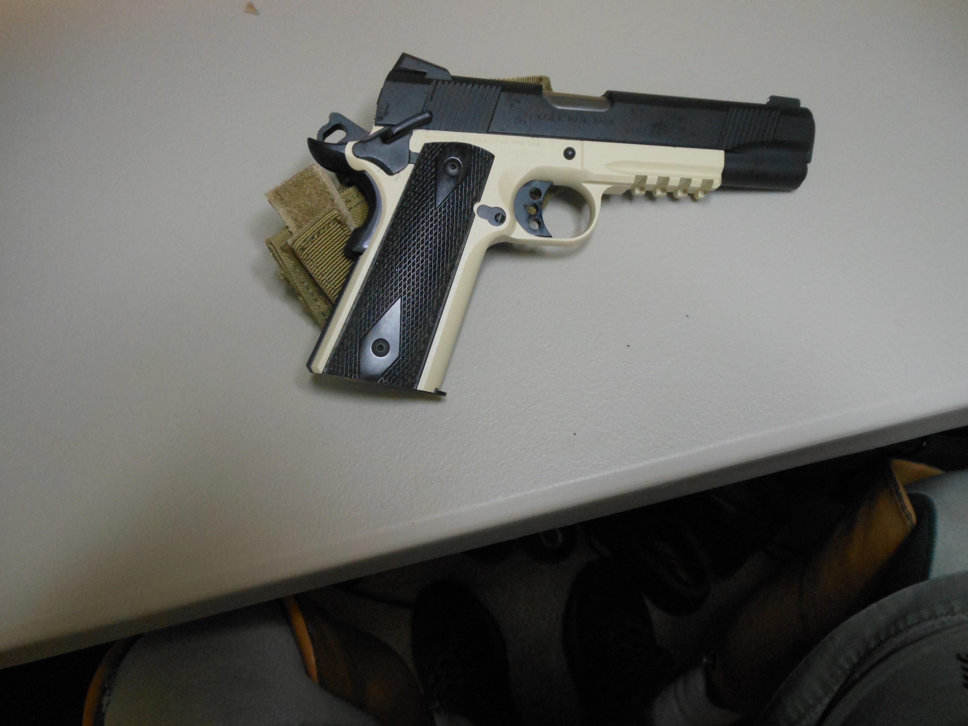 New Colt Rail Gun