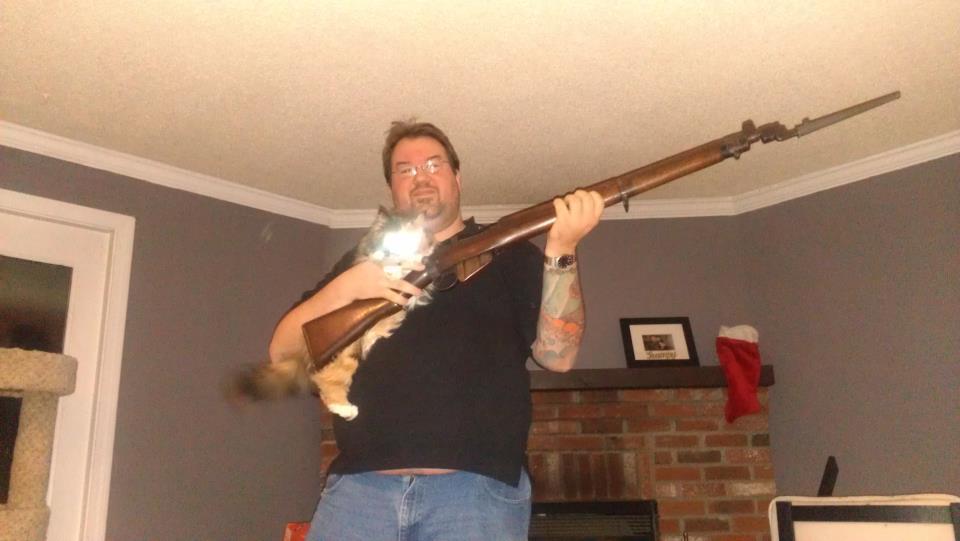 Adding laser sights to a milsurp gun-enfield-cat.jpg
