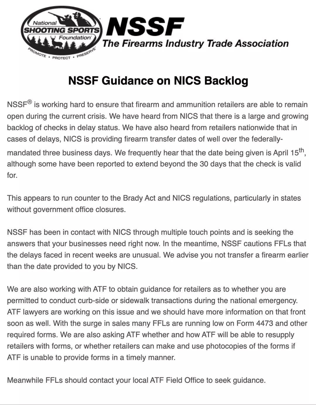 NICS 'delay' significantly backlogged-fb_img_1585319109478.jpg