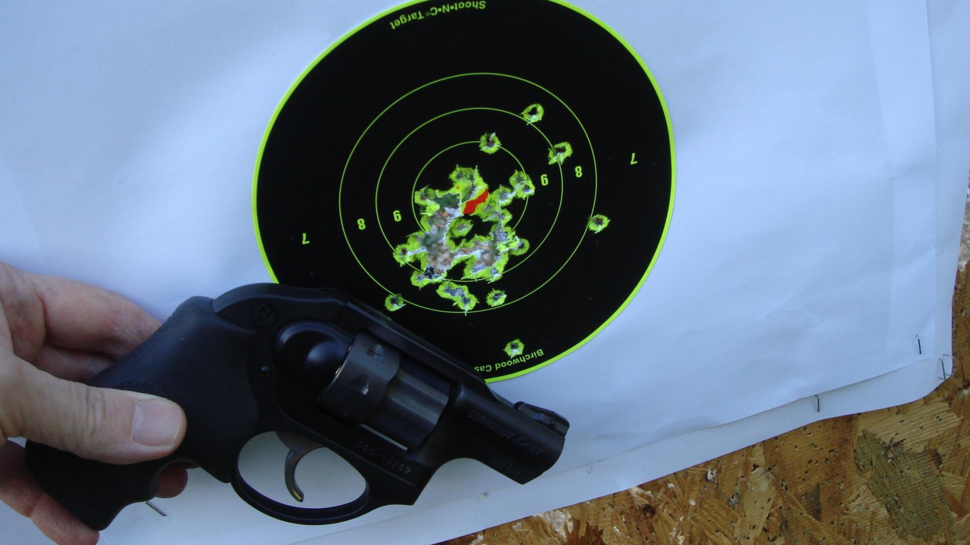 LCR .22 LR first shots...-federal-710s-7-yds.jpg