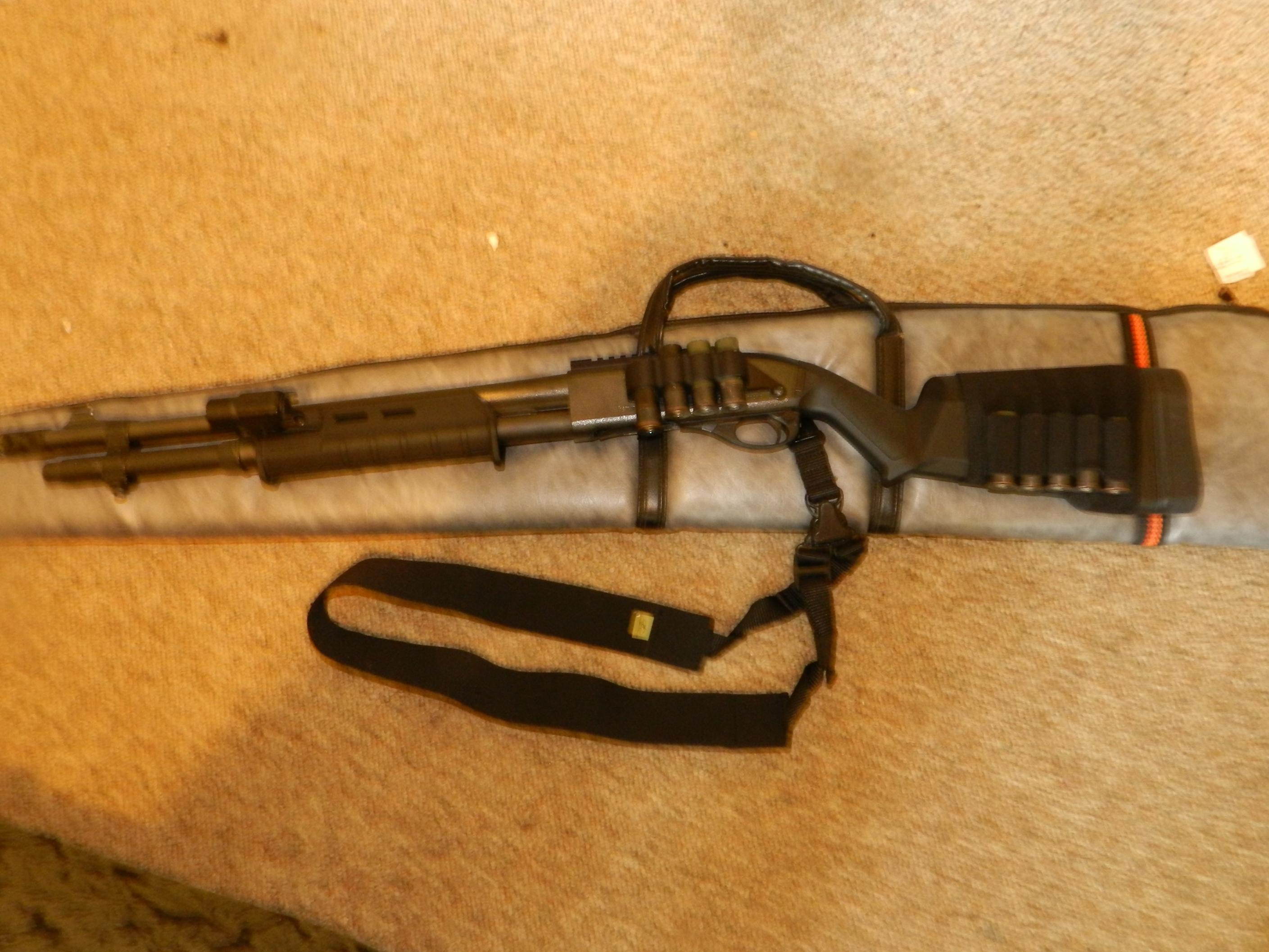 Out with the old and in with the new. Benelli M4-fishing-shotgun-010.jpg