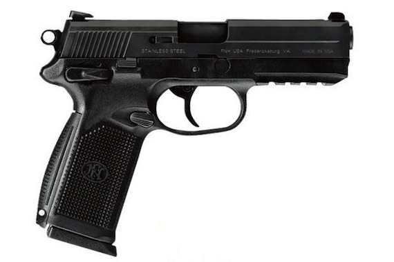 For Sale: Daily Deal - NIB FNM FNX-45 Pistol 15RD Black-fnx45-45acp.jpg