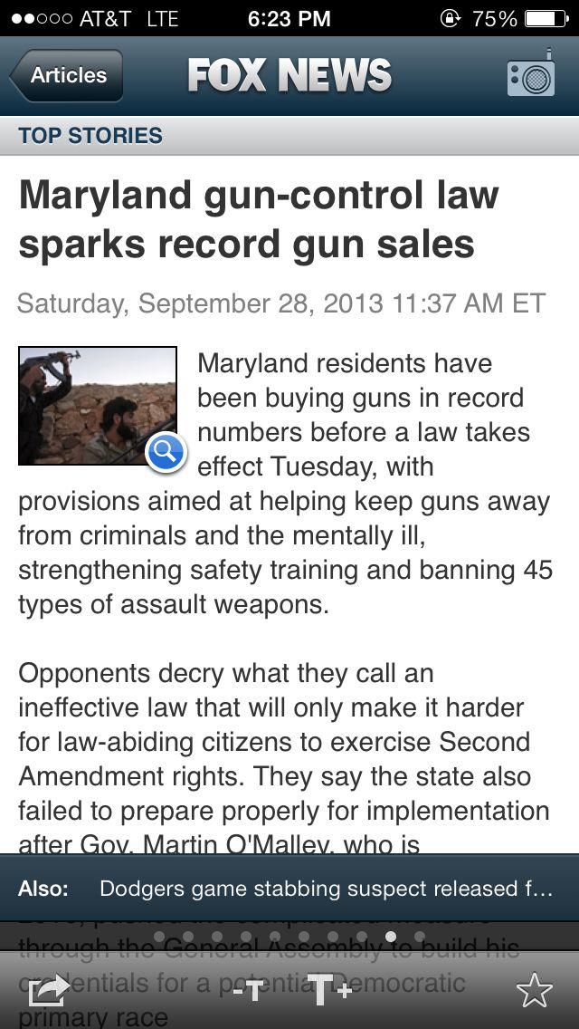 Overt Anti Gun Bias visible in news article on Iphone AP-fox3.jpg