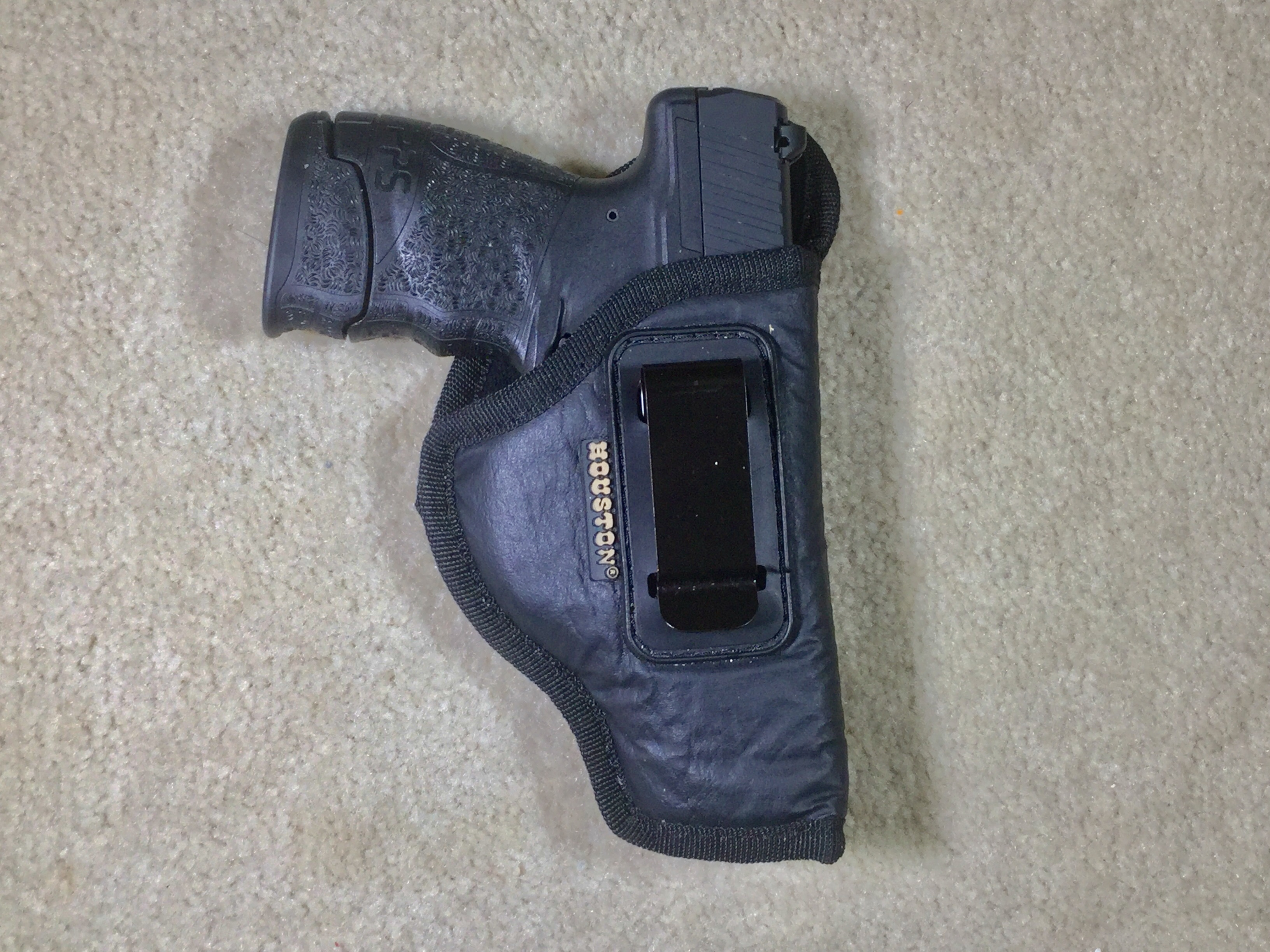 IWB Holster for subcompact pisand two IWB magazine carriers for single stack 9mm mags-fullsizeoutput_24e.jpeg
