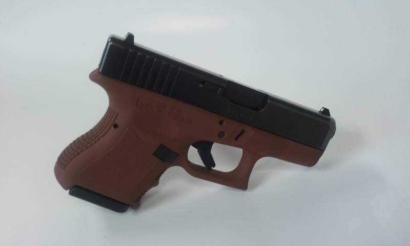 For Sale: Tactical desert brown Glock 27 Gen3 40 caliber pistol-g27gen3-frameonly-tacticaldesertbrown.jpg