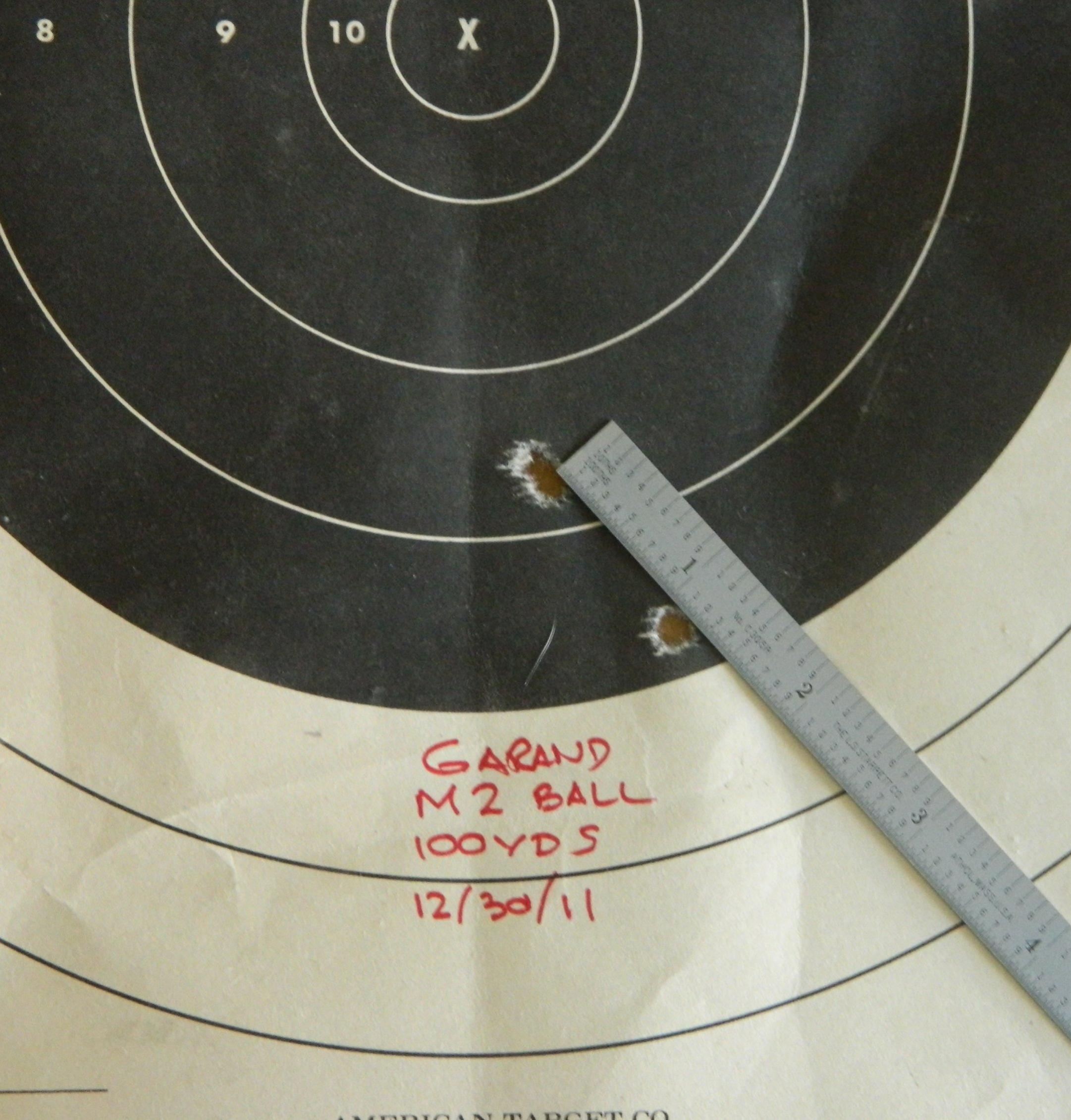 A Garand Day at the range... up to a point-garand-1st-target.jpg