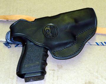 New leather glock holster-glock-black.jpg