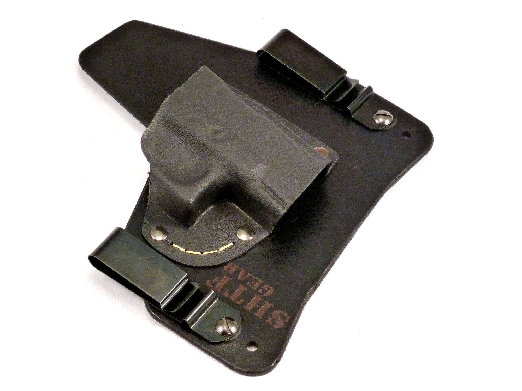 The only hybrid holster with Kevlar stitching, SHTF Gear-glock-front-left-1500.jpg