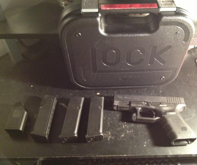 Love my new G23 Gen 4 -- Range report/review-glock-package.jpg