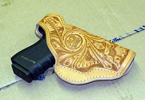 New leather glock holster-glock-tooled-frt.jpg