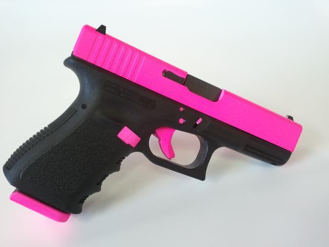 For Sale: Hot Pink Glock 19 Gen3 9mm Pistol-glock19gen3-contrastpattern-hotpink.jpg