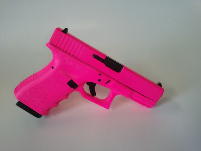 For Sale: Hot Pink Glock 19 Gen3 9mm Pistol-glock19gen3-wholefirearm-hotpink.jpg