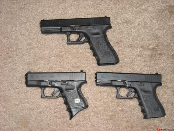Help me select my first Carry Gun:) Pics please:)-glocks.jpg