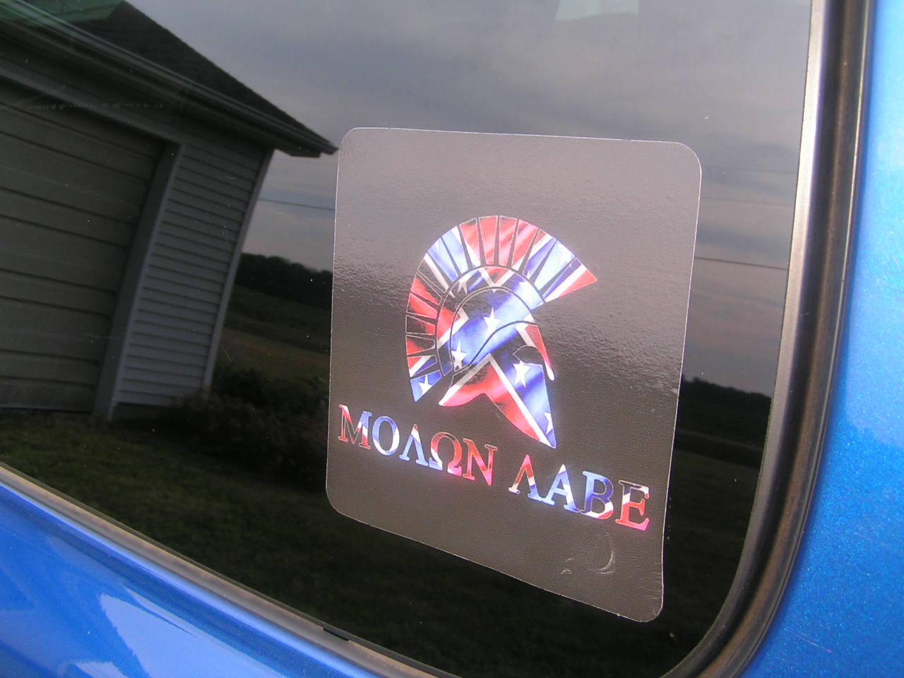 ΜΟΛΩΝ ΛΑΒΕ Stickers with Southern Cross Overlay with Photo-go-blue-026.jpg