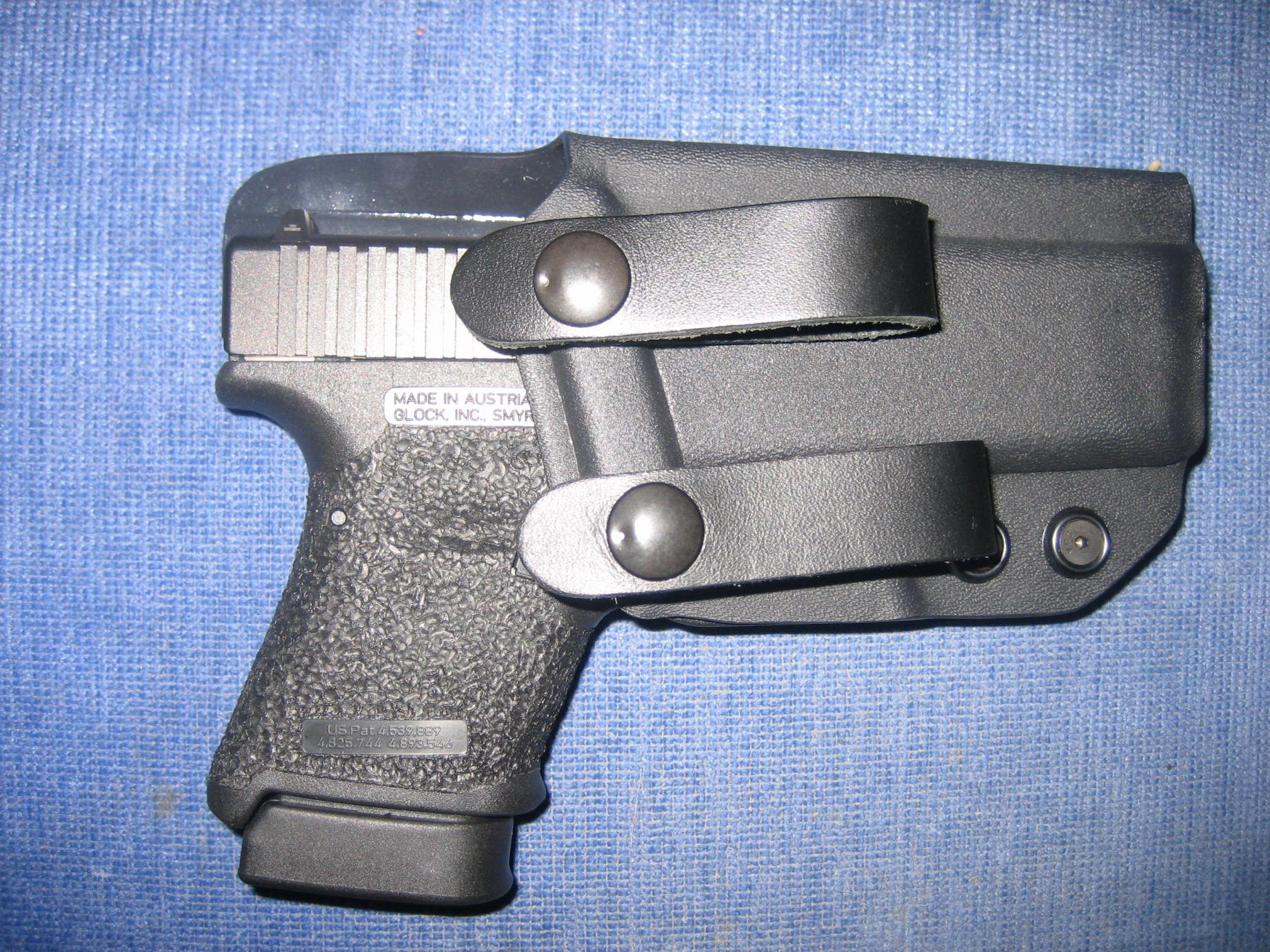 Got to shoot a Glock 30 today.-grip-reduction-007.jpg