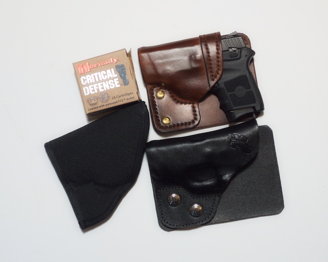 Three Pocket Holsters for the BG380 a short Review with Pictures-grouping.jpg