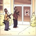 FUN:  Favorite cartoon images about gun control-gun-free-zone-150x150.jpg