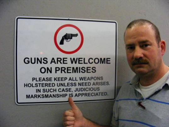 Do you support a businesses right to ban guns(Poll added)-guns-welcom.jpg