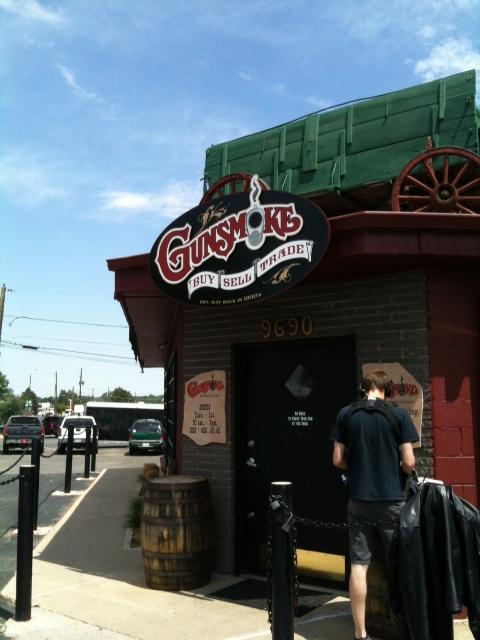 "Visited Gunsmoke gunshop of ""American Guns"" on Discovery channel-gunsmoke.jpg"