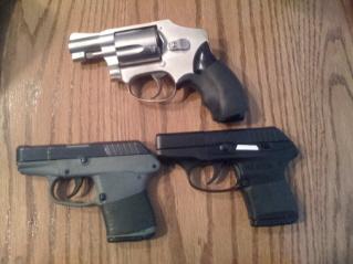 Ruger LCP, Kel-Tec P3AT, S&W 442-gunss.jpg