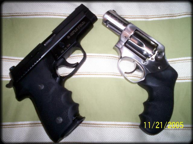 My Wife's first gun-hisandhers.jpg