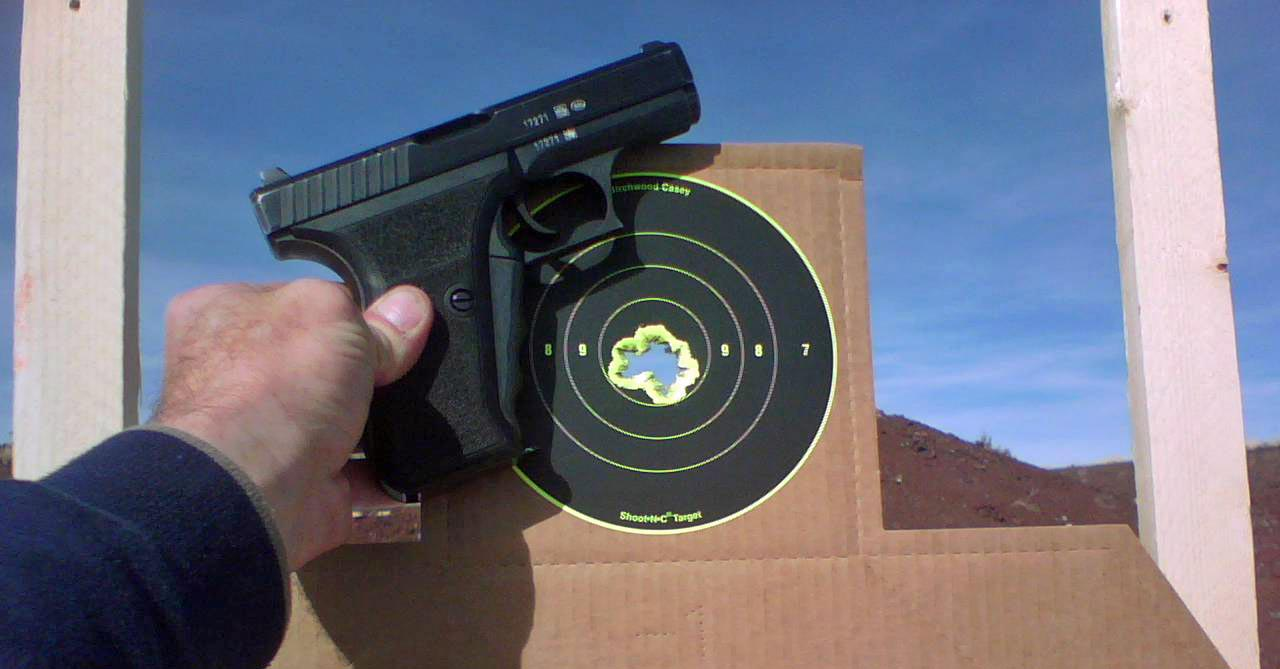 A good day at the range! HK P7 / Springfield TRP report-hkp7.jpg