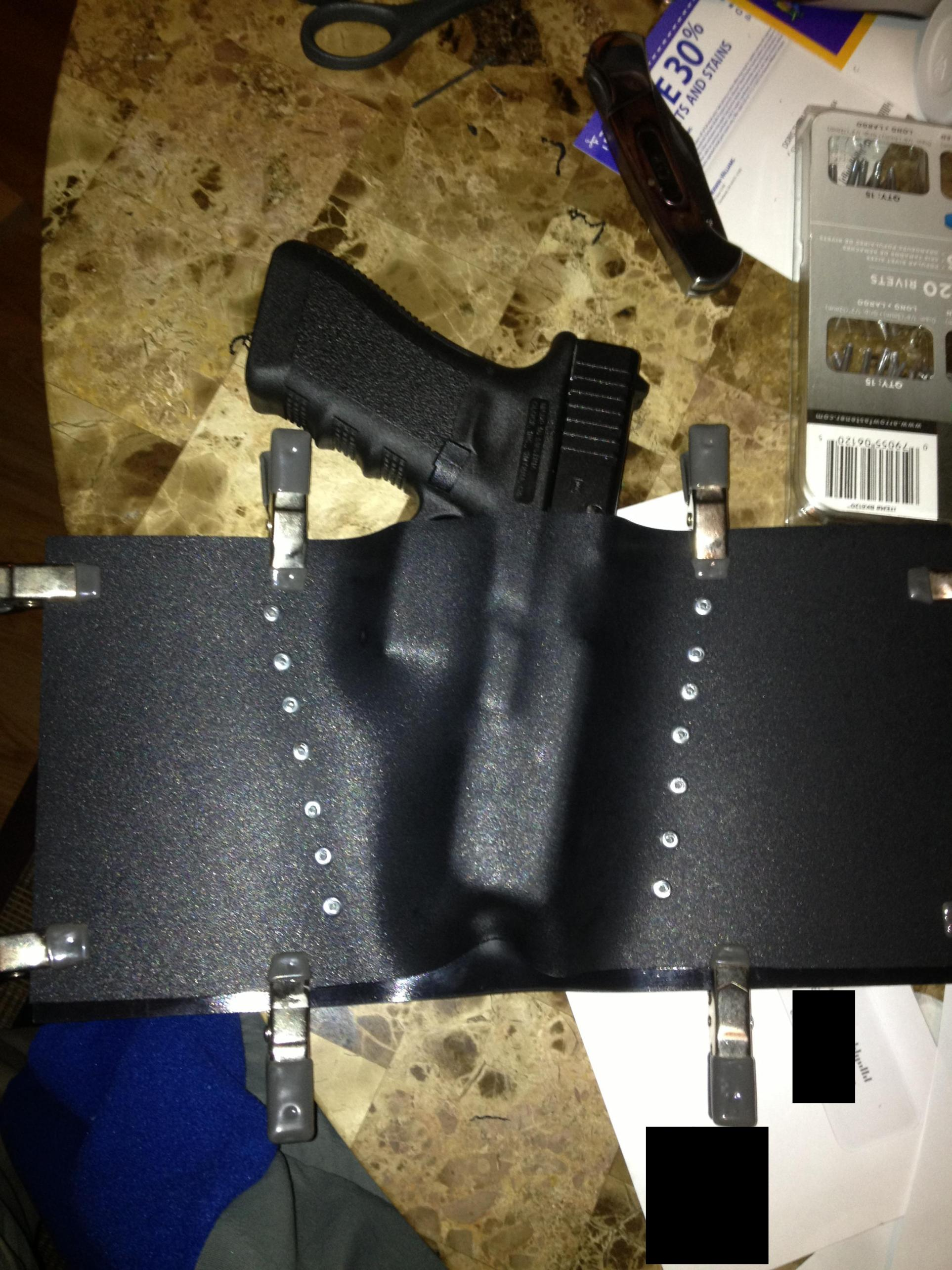 Going to make my own Kydex OWB Holster