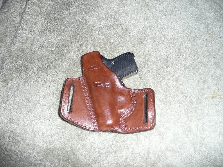 Leather Seecamp Holster!