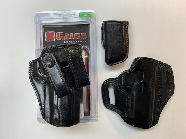 SOLD: 1911 Galco Holsters & WC Magazines-holsters.jpg